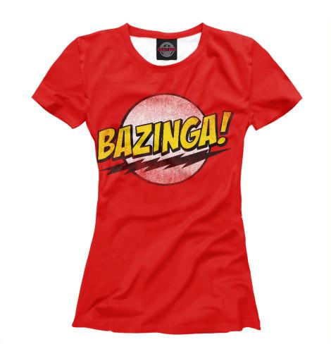 Футболка Print Bar Bazinga худи print bar bazinga