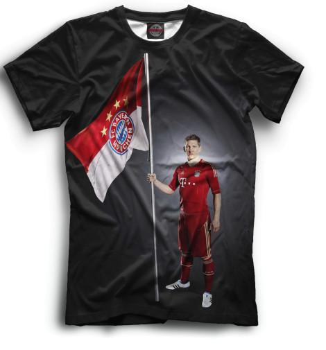 Мужская футболка Швайнштайгер