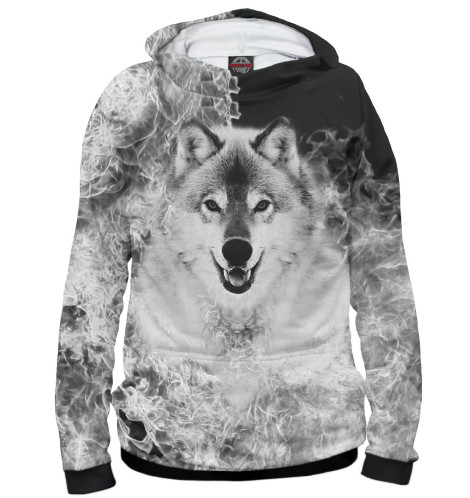 Женское худи Волк
