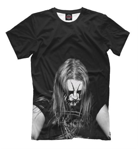 Купить Мужская футболка Black Metal Ist Krieg MZK-322984-fut-2