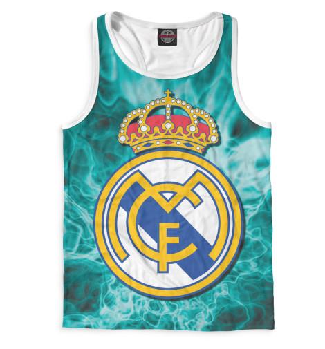 Мужская майка-борцовка Герб Real Madrid