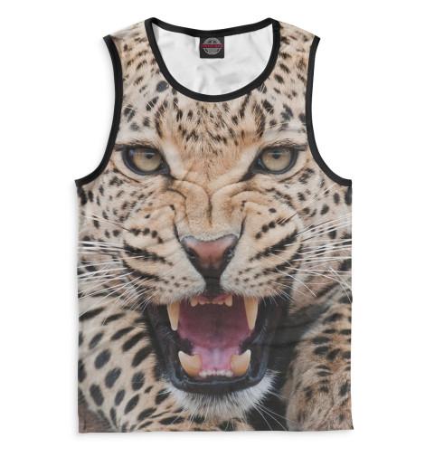Мужская майка Леопард
