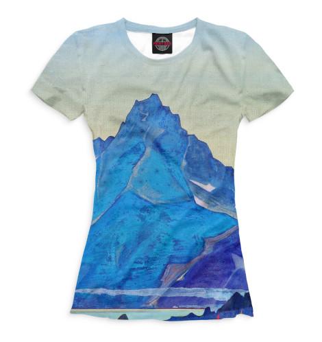 Женская футболка Озеро Нагов