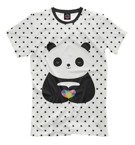 Футболка Print Bar Любовь панды майка print bar любовь панды