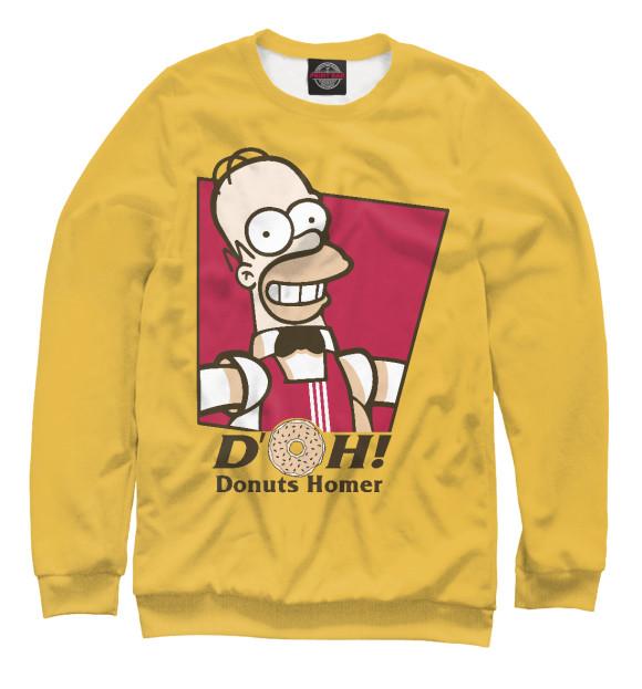 Купить Мужской свитшот Homer Donuts SIM-684228-swi-2