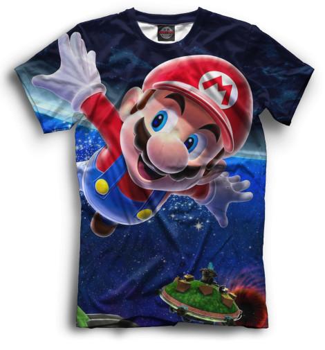 Мужская футболка Mario