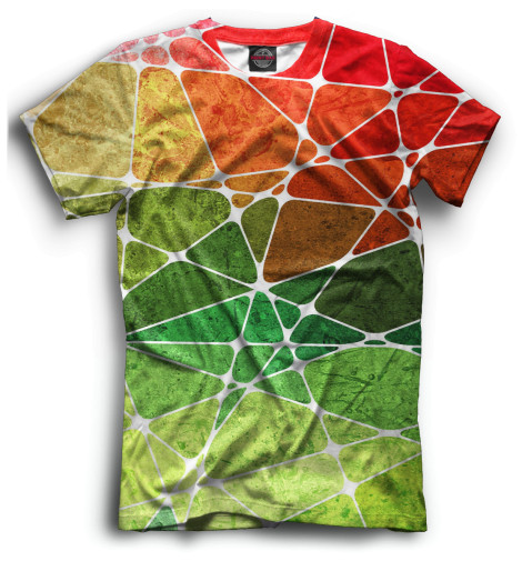 Мужская футболка Геометрия