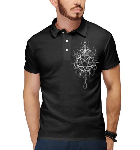 Поло Print Bar Black Metal футболка print bar black metal ist krieg
