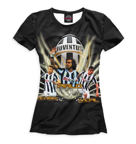 Женская футболка Маркизио, Пирло, Видаль