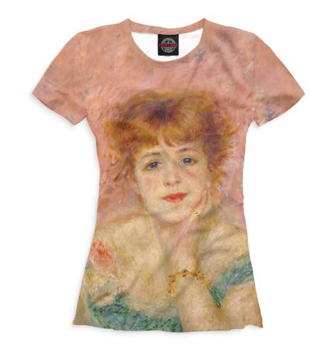 Женская футболка Жанна Самари