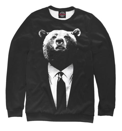 Свитшот Print Bar Медведь бизнесмен свитшот print bar медведь вдв