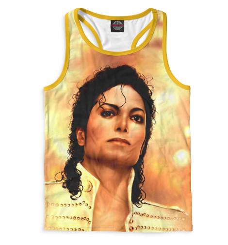 Мужская майка-борцовка Michael Jackson