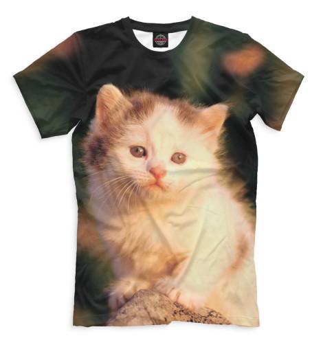 Купить Мужская футболка Коты CAT-557733-fut-2