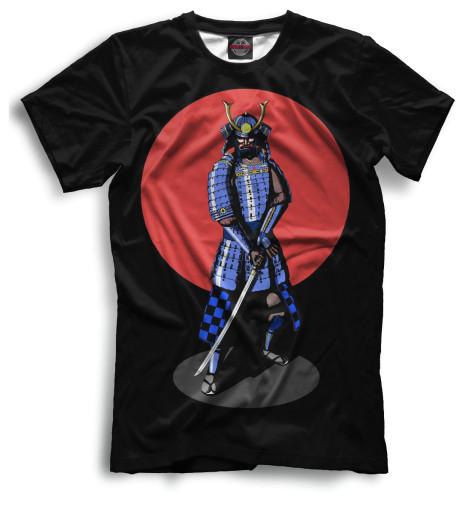 Мужская футболка Самурай, арт