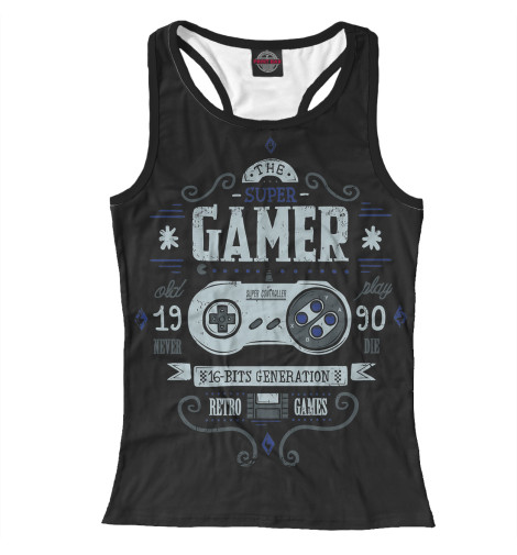 Майка борцовка Print Bar Gamer свитшот print bar pro gamer
