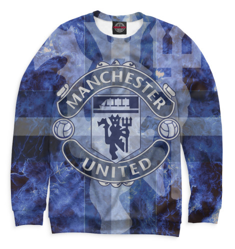 Женский свитшот Manchester United герб Print Bar MAN-806833-swi