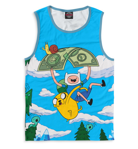 Купить Майка для мальчика Adventure Time ADV-871202-may-2