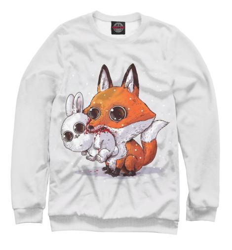 Купить Свитшот для мальчиков Лиса и кролик FOX-911387-swi-2