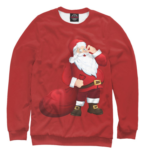 Свитшот Print Bar Дед Мороз