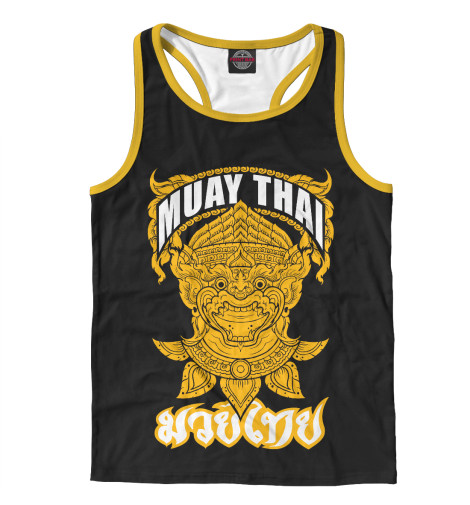 Майка борцовка Print Bar Muay Thai Fighter свитшот print bar muay thai boxing