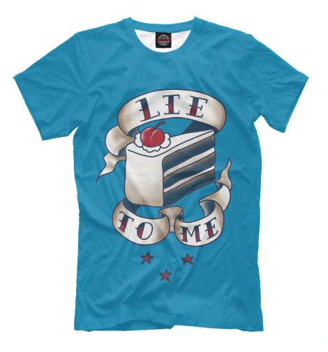 Футболка Print Bar Lie to me футболка для беременных printio мишка me to you