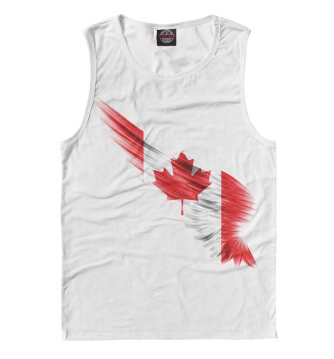 Майка Print Bar Свободная Канада восточная канада
