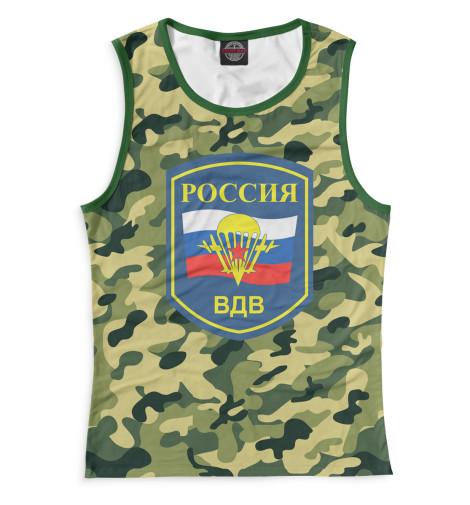 Женская майка Россия ВДВ Print Bar VDV-312403-may-1