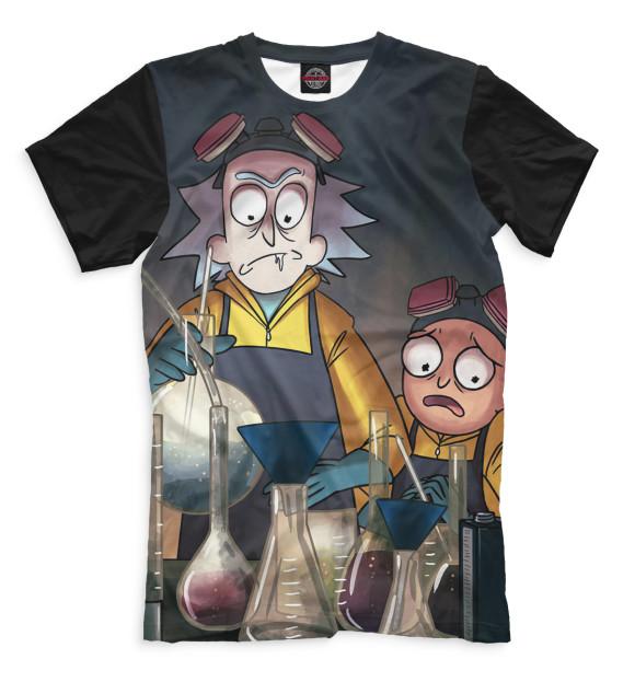 Купить Мужская футболка Рик и Морти RNM-803933-fut-2