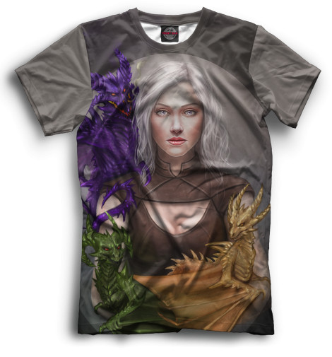 Мужская футболка Дейнерис Таргариен