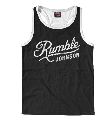 Майка борцовка Print Bar Rumble Johnson rumble roses xx купить спб