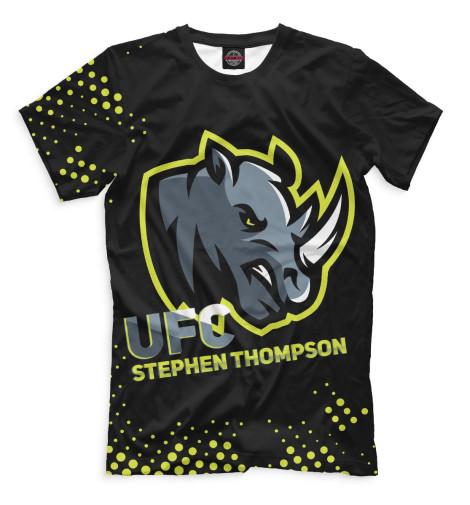 Футболка Print Bar Стивен Томпсон badboy стивен wonderboy томпсон ufc 170 вещевых мма рубашка