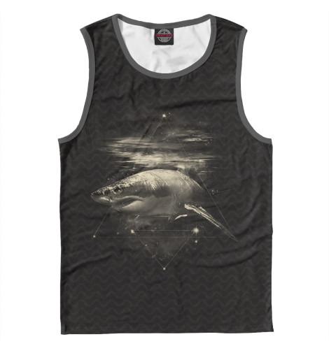 Майка Print Bar Cosmic Shark майка enjoi shark infested tank black