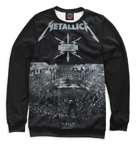 Женский свитшот Metallica