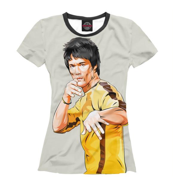 Купить Женская футболка Bruce Lee ZNR-274073-fut-1