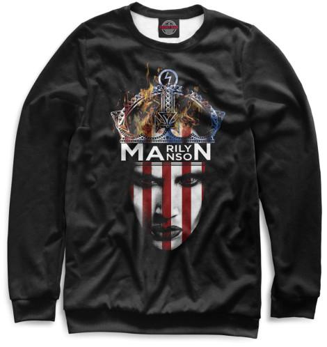 Женский свитшот Marilyn Manson