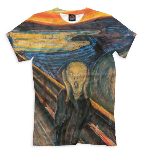 Мужская футболка Крик