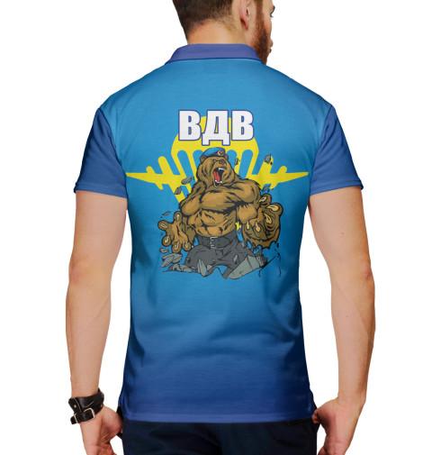 Поло Print Bar ВДВ поло print bar blurryface