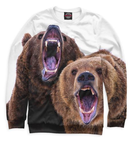 Мужской свитшот Медведи