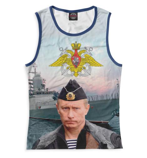 Майка Print Bar ВМФ Путин майка print bar путин вмф