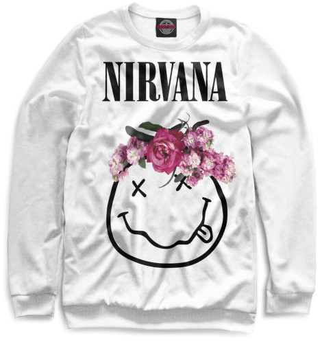 Мужской свитшот Nirvana
