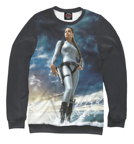 Свитшот Print Bar Лара Крофт — Анджелина Джоли футболка классическая printio анджелина джоли