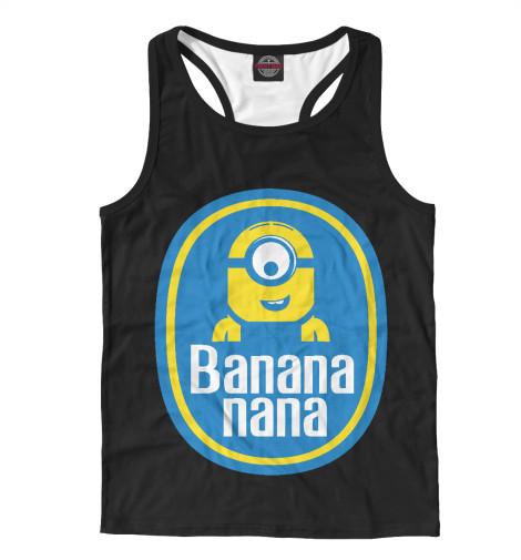 Майка борцовка Print Bar Banana Nana майка борцовка print bar banana usa