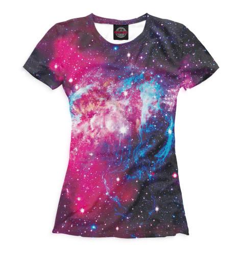 Женская футболка Космос