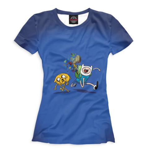Купить Женская футболка Финн и Джейк ADV-212596-fut-1
