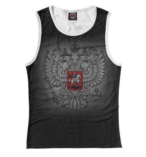 Майка Print Bar Герб России купить герб россии от пограничного столба интернет магазин