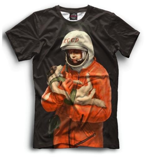 Мужская футболка Гагарин