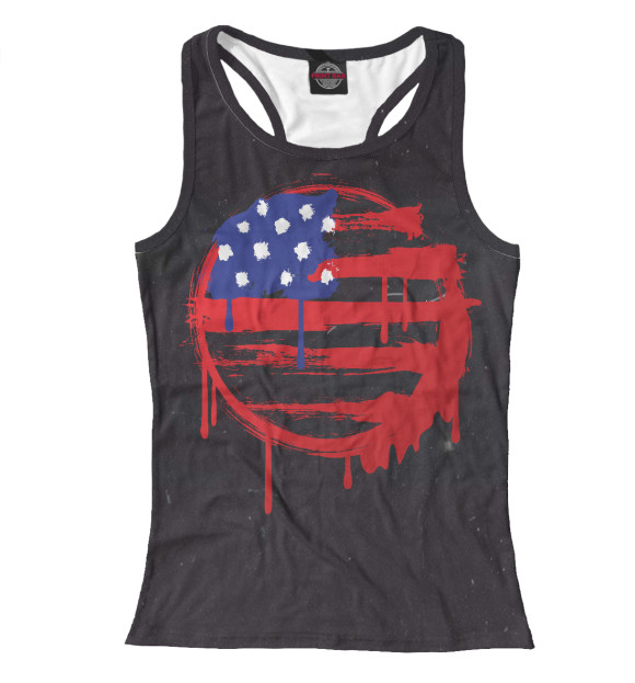 Купить Майка для девочки American Flag (Американский флаг) CTS-166056-mayb-1