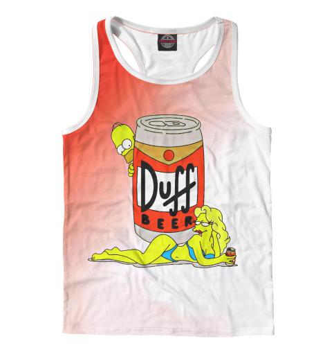 Майка борцовка Print Bar Duff Beer майка print bar duff beer