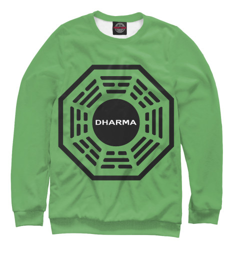Свитшот Print Bar Dharma Initiative hipc initiative