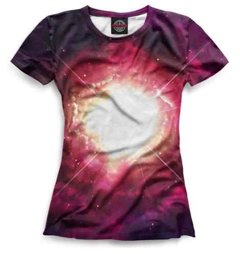 Женская футболка Kосмос